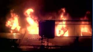 Qatar: 11 die in labour camp fire