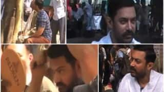 Aamir Khan's LEAKED Dangal videos straight from the sets!