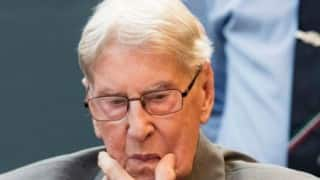 Auschwitz guard Reinhold Hanning sentenced to five years in jail