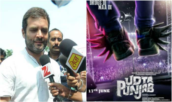 Rahul Gandhi Backs Udta Punjab Slams Censor Board Government For