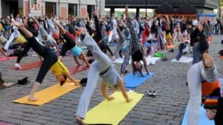 Texas cities gear up for International Yoga Day