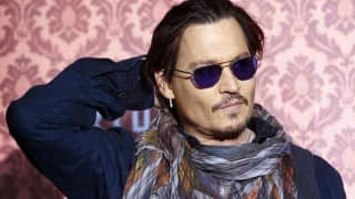Johnny Depp's night out with belly dancers in Romania