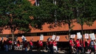 4,800 nurses at 5 Minneapolis-area hospitals begin weeklong strike