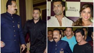 Salman Khan and Katrina Kaif, Karan Singh Grover and Bipasha Basu, Shah Rukh Khan: B-Townies at Baba Siddique's Iftar party