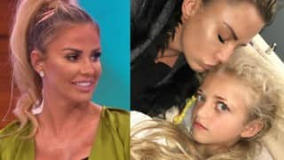 When Katie Price's daughter Princess thought her arm fell