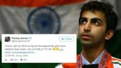 After being trolled for sharing a fake Narendra Modi news, Pankaj Advani responds in style & yes that will make you think hard!