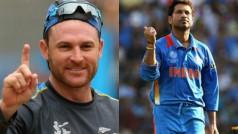 Sachin Tendulkar lone Indian in Brendon McCullum's all-time cricketing XI