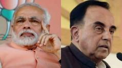 Narendra Modi condemns Subramanian Swamy's attack on Raghuram Rajan