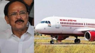 Venkaiah Naidu misses appointment as pilot plays truant, slams Air India