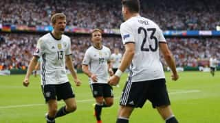 GER beat SLO 3-0  | Live Football Score Euro 2016 Round of 16: Get full scorecard & live updates of Germany vs Slovakia