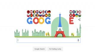 Google doodle celebrates UEFA Euro 2016