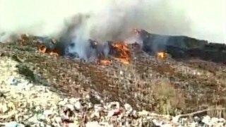 Mumbai: Kalyan chokes as major fire breaks out at Agarwadi dumping ground; no casualties reported