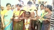 Shocking! Drought forced this Karnataka village to parade a boy naked in order to appease the Rain God (Watch Video)
