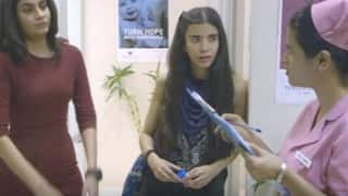 Y Films Ladies Room Episode 3 takes you inside a hospital and needless to say, things go mad in the hospital washroom!