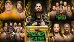 WWE Money in the Bank 2016 match card and predictions