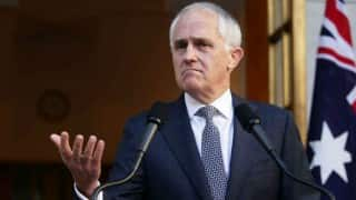 Malcolm Turnbull says re-elect us to counter Brexit chaos