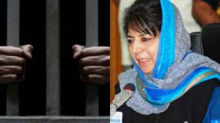 Guantanamo Bay in Jammu & Kashmir? Mehbooba Mufti seeks funds from Centre to build high security prison for terrorists!