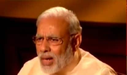 Narendra Modi on Times Now: PM makes veiled attack at Congress for repeated Parliamentary logjams on Frankly Speaking with Arnab Goswami (Video)