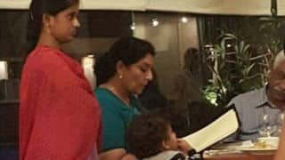 Politician Renuka Chowdhury  went for a family dinner and made the nanny stand throughout, earning the wrath from the Twitterati and the common man