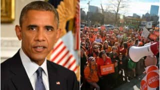UCLA campus shooting: Barack Obama appeals people of USA to wear orange to raise awareness to stop gun violence
