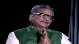 BJP may decide on CM candidate for UP at national executive meet: Om Prakash Mathur
