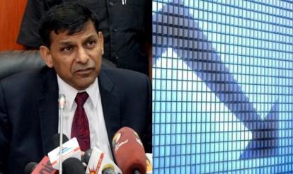 Raghuram Rajan exit affects Indian stock market, Rupee slumps 60 paise, Sensex falls 180 points