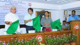 Suresh Prabhu launches social media platform for rail passengers to register complaints