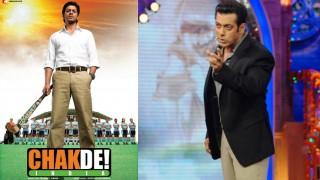 सलमान खान की वजह से मिली थी शाहरुख़ खान को फिल्म 'चक-दे इंडिया'; दबंग खान ने अब जताया एहसान