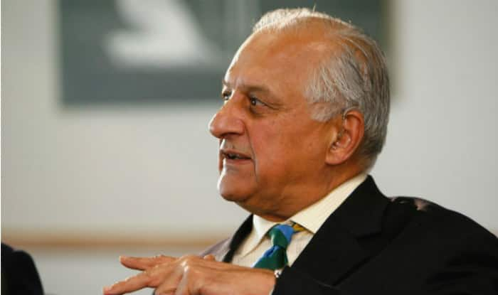 पीसीबी चेयरमैन शहरयान खान ने कहा है कि भारत पाकिस्तान के साथ क्रिकेट खेलने से डरता है (Getty)