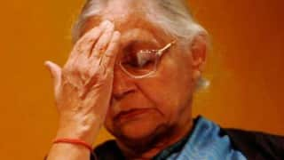 Congress-tweeted list of Sahara entries also has Sheila Dixit's name