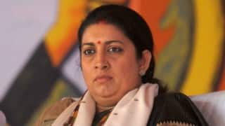 Smriti Irani vs Ashok Choudhary: Offended on being referred as 'dear', HRD Minister launches Twitter battle against Bihar's education minister