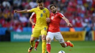 Euro Cup 2016: Switzerland, Romania play out enthralling 1-1 draw