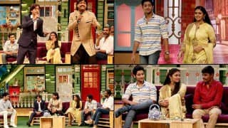 The Kapil Sharma Show: Sairat stars Rinku Rajguru & Akash Thosar make a rocking appearance! (Watch video)