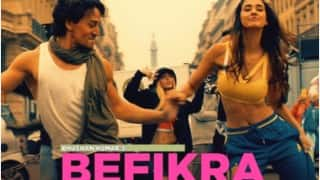 Befikra song: Put on your dancing shoes and groove with Tiger Shroff, Disha Patani