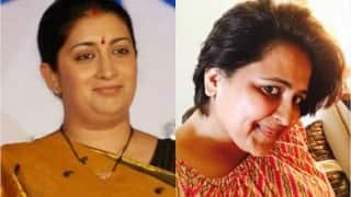 WOW! Smriti Irani's prompt reply to this woman's tweet got a serial harasser arrested