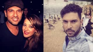 Hazel Keech and Yuvraj Singh are busy holidaying in London!