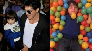 This video of AbRam playing with daddy Shah Rukh Khan is too adorable to miss!