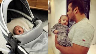 Arpita Khan Sharma shares a super adorable picture of Salman Khan with Ahil!