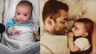 Salman Khan and his nephew Ahil's new pictures will help you beat mid-week blues!