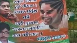 Varun Gandhi supporters annoys BJP with posters attacking Smriti Irani and declaring him as CM candidate for Uttar Pradesh