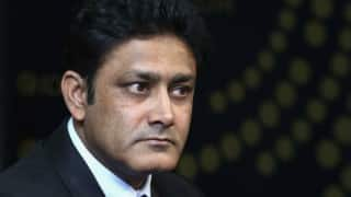 Anil Kumble selected as the coach of the Indian cricket team, Ravi Shastri misses out