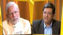 Arnab Goswami interviews Narendra Modi; watch full video of Times Now's Frankly Speaking