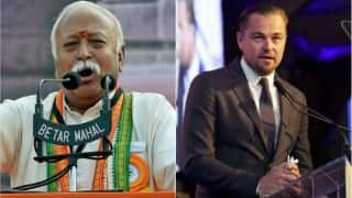 Leonardo DiCaprio to share stage with Mohan Bhagwat at RSS event in London?