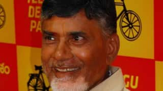 Andra Pradesh CM Chandrababu Naidu launches IT-enabled mgmt system for irrigation projects