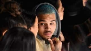 Chris brown slams haters for accusing him of being gay