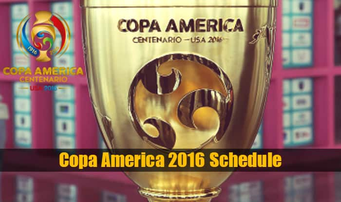 Copa America 2016 fixture & Schedule IST: Full schedule of South ...