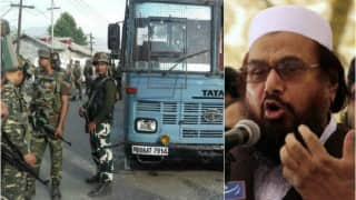 Pakistan involved in Pampore attack; Hafiz Saeed's son-in-law masterminded strike on CRPF convoy