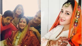 Chahat Khanna of Bade Acche Lagte Hain shares her baby shower pictures!