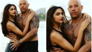 Deepika Padukone and Vin Diesel are too hot to handle in the latest still from XXX: The Return Of Xander Cage