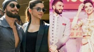 Ranveer Singh's reaction when Deepika Padukone praises his hardwork is priceless (Watch Video)